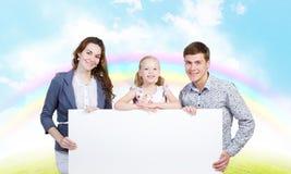 Familia joven Fotografía de archivo