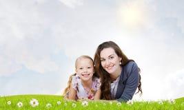 Familia joven Foto de archivo libre de regalías