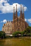 familia los angeles Sagrada obrazy stock