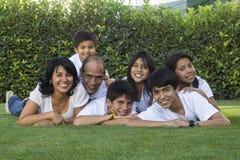 Familia mexicana 3 Imagen de archivo libre de regalías