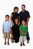 Familia mezclada Imagen de archivo