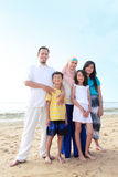 Familia musulmán feliz Fotografía de archivo