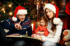 Familia positiva Foto de archivo libre de regalías