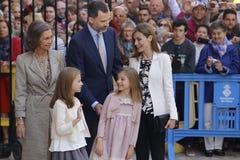 familia real 016 Imagenes de archivo