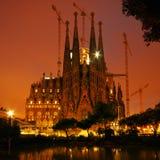 familia sagrada Ισπανία της Βαρκελώνησ στοκ φωτογραφίες με δικαίωμα ελεύθερης χρήσης