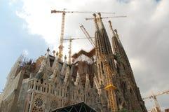 familia sagrada της Βαρκελώνης Στοκ Φωτογραφία