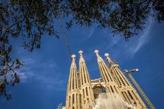 familia sagrada Испания barcelona Стоковое Изображение RF