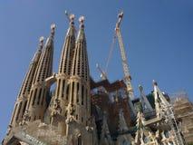 familia sagrada barcelona Стоковая Фотография