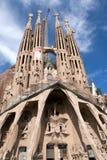 familia sagrada barcelona Стоковое Изображение