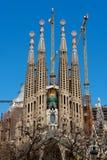 familia sagrada barcelona Стоковое Изображение RF