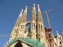familia sagrada barcelona Стоковое Фото