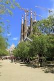 familia sagrada barcelona Стоковые Изображения