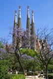 familia sagrada de Barcelone Photos libres de droits