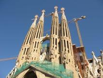 familia sagrada de Barcelone Photo stock