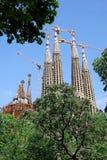 familia Sagrada niedokończony Obrazy Royalty Free