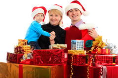 Familia X Imagen de archivo libre de regalías