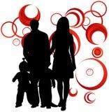 Familia y extracto Fotografía de archivo