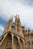 familiala sagrada för 3 barcelona Royaltyfria Foton