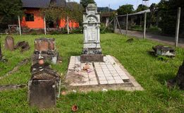 German brazilian cemetery stock photography