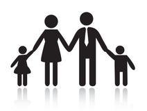 Familie stock abbildung