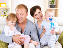 Familie Stockbilder