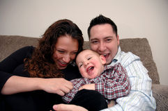 Familie stockfotos