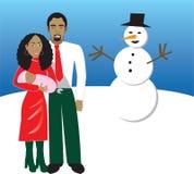 Familie 5 vector illustratie