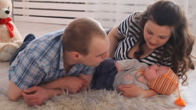 familie stock video footage