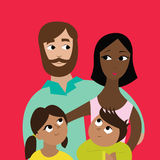Familie Vector Illustratie