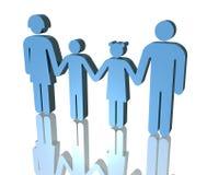 Familie Lizenzfreies Stockfoto