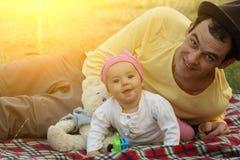 Familie Stock Fotografie