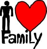 Familie 8 lizenzfreie abbildung
