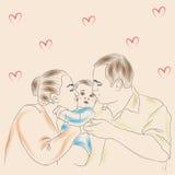 Familie alt Lizenzfreies Stockbild