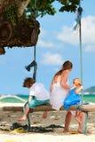 Familie auf Ferien Lizenzfreie Stockfotografie