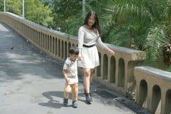 Familie Aziaat Royalty-vrije Stock Afbeelding