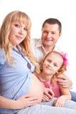 Familie Idyll Lizenzfreie Stockbilder