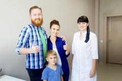 Familie medische kliniek Royalty-vrije Stock Fotografie