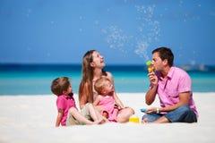 Familie op vakantie Royalty-vrije Stock Fotografie