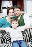 Familie samen Royalty-vrije Stock Afbeeldingen
