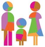 familie symbool Stock Fotografie