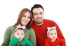 Familie und Kinder Lizenzfreies Stockbild
