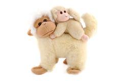 Familie van apen Stock Afbeeldingen