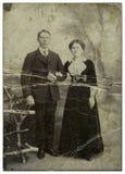 Familie van cossacks. royalty-vrije stock foto