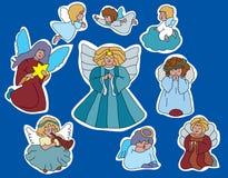 Familie van Engelen royalty-vrije illustratie