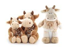 Familie van koeien Stock Afbeelding