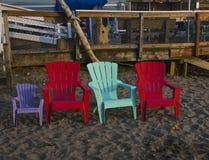 Familie van stoelen Royalty-vrije Stock Afbeelding