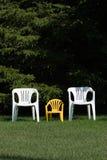 Familie van stoelen Royalty-vrije Stock Foto's