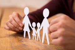 Familie vereinigt lizenzfreies stockbild