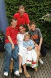Familiefoto Royalty-vrije Stock Afbeeldingen