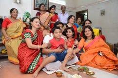 Familiefotografie Royalty-vrije Stock Foto's